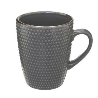 Mug scandinave Perle - 320 ml - Gris