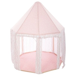 Tente yourte pour enfant Dream - L. 119 x H. 140 cm - Rose