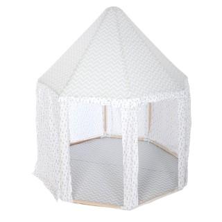Tente yourte pour enfant Dream - L. 119 x H. 140 cm - Gris