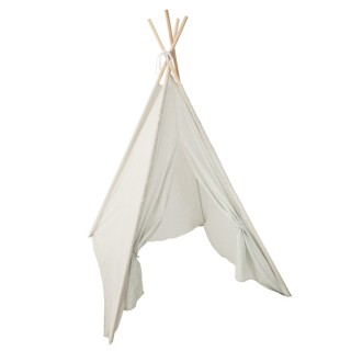 Tipi phosphorescent pour enfant Dream - H. 160 cm - Gris