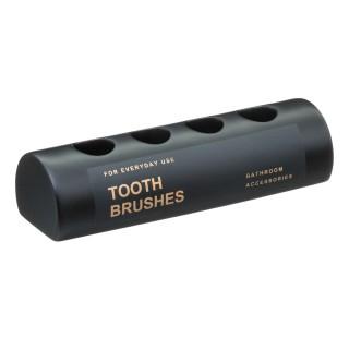 Porte brosses à dents design Black - Noir