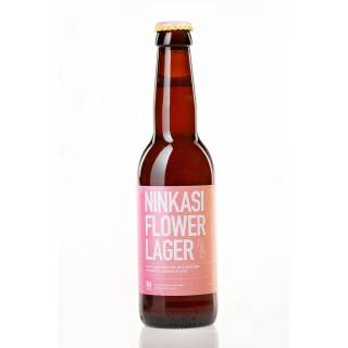 Bière Ninkasi Flower Lager - bouteille 33cl