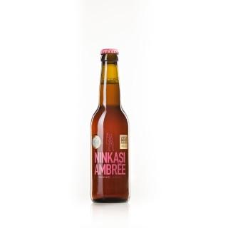 Bière Ninkasi Ambrée - bouteille 33cl