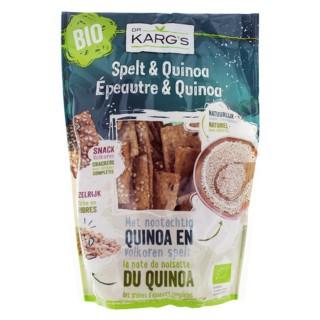 Mini crackers épeautre et quinoa BIO - Dr Karg's - Sachet 110g