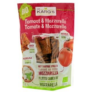 Mini crackers tomate & mozzarella BIO - Dr Karg's - Sachet 110g