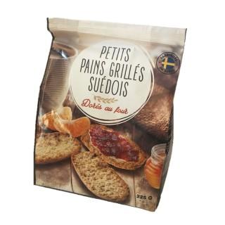 Petits pains grillés suédois - paquet 225g