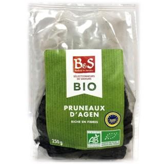 Pruneaux d'Agen IGP BIO - B&S - paquet 250g