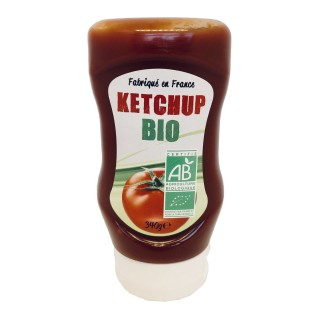 Ketchup BIO - France - flacon 340g
