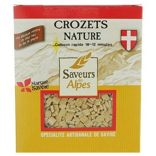 Crozets nature - Saveurs des Alpes - boîte 400g