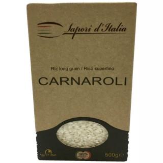 Riz long carnaroli - Italie - Sapori d'Italia   - boîte 500g