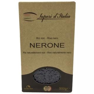 Riz noir Nerone Italie boîte 500g Carton de 12 x 500GR