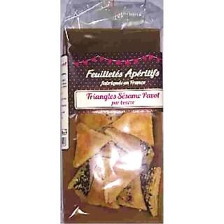 Feuilletés apéritifs sésame & pavot pur beurre - France - paquet 60g