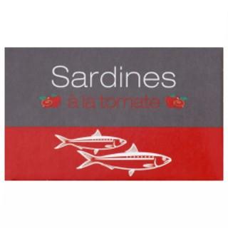 Sardines à la tomate - Maroc - conserve 125g