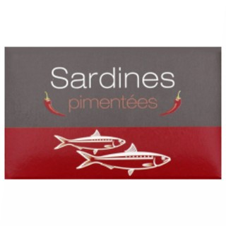 Sardines pimentées - Maroc - conserve 125g