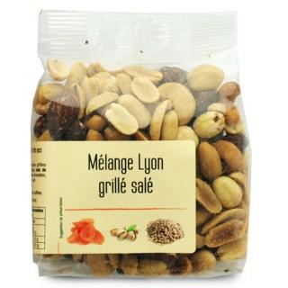 Mélange Lyon grillé salé - Agidra - paquet 200g