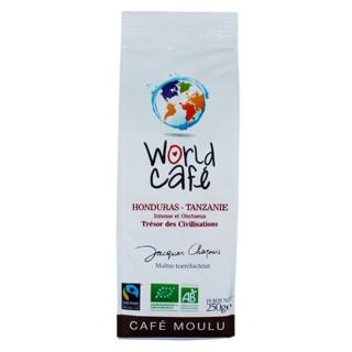 Café moulu BIO Honduras / Tanzanie - World Café Jacques Chapuis - paquet 250g