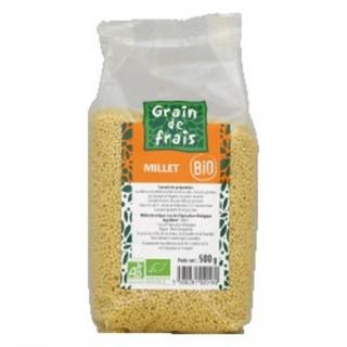 Millet décortiqué BIO - Grain de Frais - paquet 500g