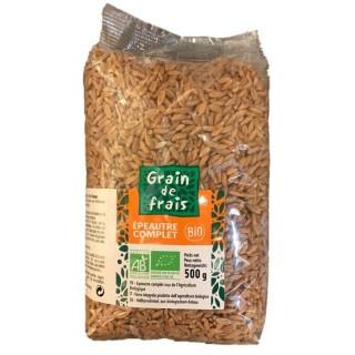 Epeautre complet BIO - Grain de Frais - paquet 500g