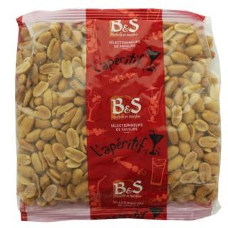Arachides blanches grillées salées - B&S - paquet 500g