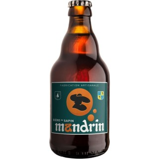 Bière artisanale Mandrin au Sapin - 33cl 8% alc./Vol- Brasserie du Dauphiné