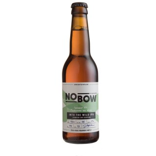 Bière artisanale Nobow Into The Wild IPA by Mandrin - 33cl 6% alc./Vol- Brasserie du Dauphiné