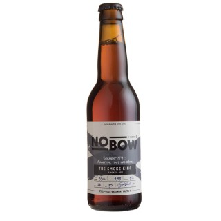 Bière artisanale Nobow The Smoke King by Mandrin - 33cl 4,8% alc./Vol- Brasserie du Dauphiné