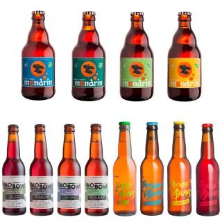 Lot 12x33cl - Assortiment bières artisanales - Brasserie du Dauphiné