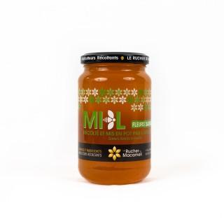 Miel de Fleurs Sauvages - Monts du Lyonnais - Rhône Alpes - Le Rucher de Macameli - pot 500g