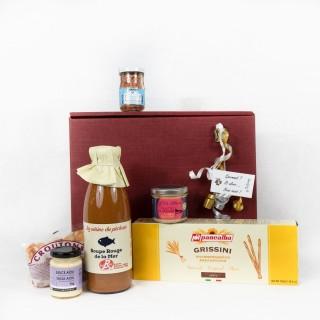 Coffret Cadeau produits de la Mer - Idée cadeau - Boîte cadeau écologique - 6 produits