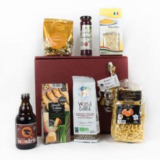 Coffret Cadeau des Gourmands - Idée cadeau - Boîte cadeau écologique - 7 produits