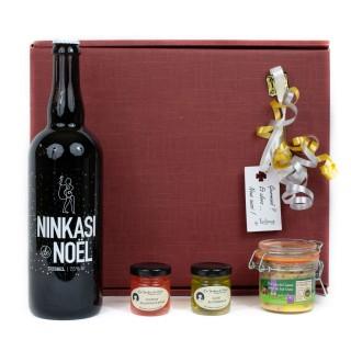 Coffret Cadeau Découvrez le Foie Gras Autrement - Idée cadeau - Boîte cadeau écologique - 4 produits