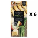 Lot 6x Biscuits au gouda et ciboulette - Buiteman - boîte 75g