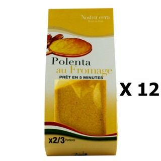 Lot 12x Polenta au fromage - Nostraterra - paquet 250g