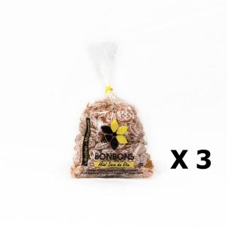 Lot 3x Bonbons au miel et sève de pin - Monts du Lyonnais - Rhône Alpes - Le Rucher de Macameli - sachet 125g