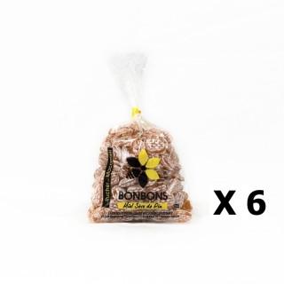 Lot 6x Bonbons au miel et sève de pin - Monts du Lyonnais - Rhône Alpes - Le Rucher de Macameli - sachet 125g