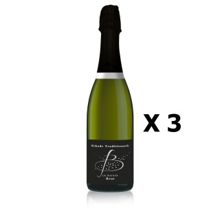 Lot 3x B de Blancs - Vignobles Berthier - Pétillant 75cl - LOIRE - Méthode traditionnelle - Agriculture Traditionnelle