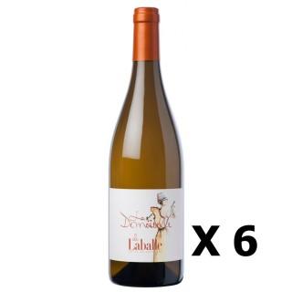 Lot 6x La Demoiselle de Laballe - Domaine de Laballe - Blanc 75cl - SUD OUEST - Côtes de Gascogne - Agriculture raisonnée
