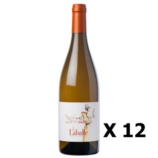 Lot 12x La Demoiselle de Laballe - Domaine de Laballe - Blanc 75cl - SUD OUEST - Côtes de Gascogne - Agriculture raisonnée