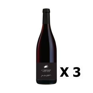 Lot 3x L'Instant Pinot Noir - Vignobles Berthier - Rouge 75cl - LOIRE - Vin de France -  Agriculture raisonnée