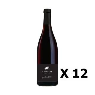Lot 12x L'Instant Pinot Noir - Vignobles Berthier - Rouge 75cl - LOIRE - Vin de France - Agriculture raisonnée