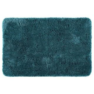 Tapis de salle de bain microfibre Colorama - L. 60 x l. 90 cm - Vert émeraude