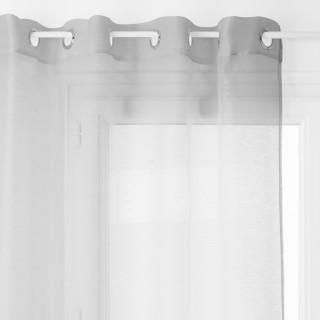 Voilage Moly - 135 x 240 cm - Gris clair