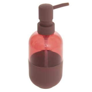 Distributeur de savon design Twin - Rouge terracotta