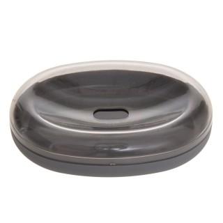 Porte savon design Twin - Gris