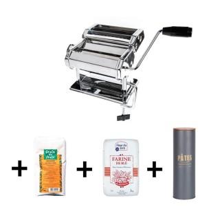 Faites vos pâtes fraîches - coffret machine à pâtes - 4 produits