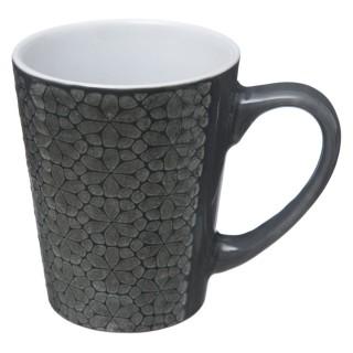 Mug design ethnique Izima - 290 ml - Gris