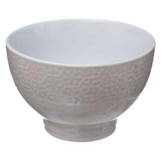 Bol design ethnique Izima - 320 ml - Blanc