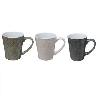 4 Mugs design ethnique Izima - 290 ml