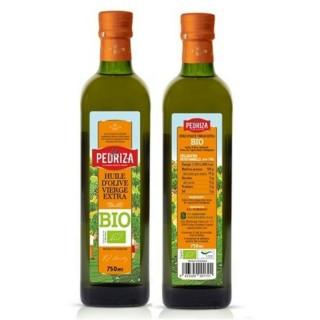 Huile d'olive extra vierge BIO Espagne - La Pedriza - 75cl