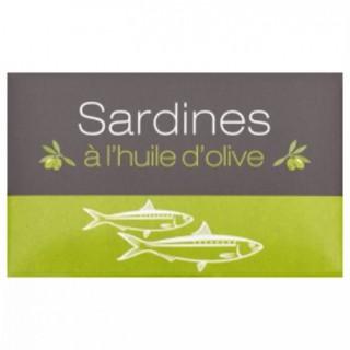 Sardines à l'huile olive - Maroc - conserve 125g